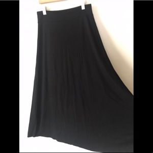 Black Maxi Skirt by Gap